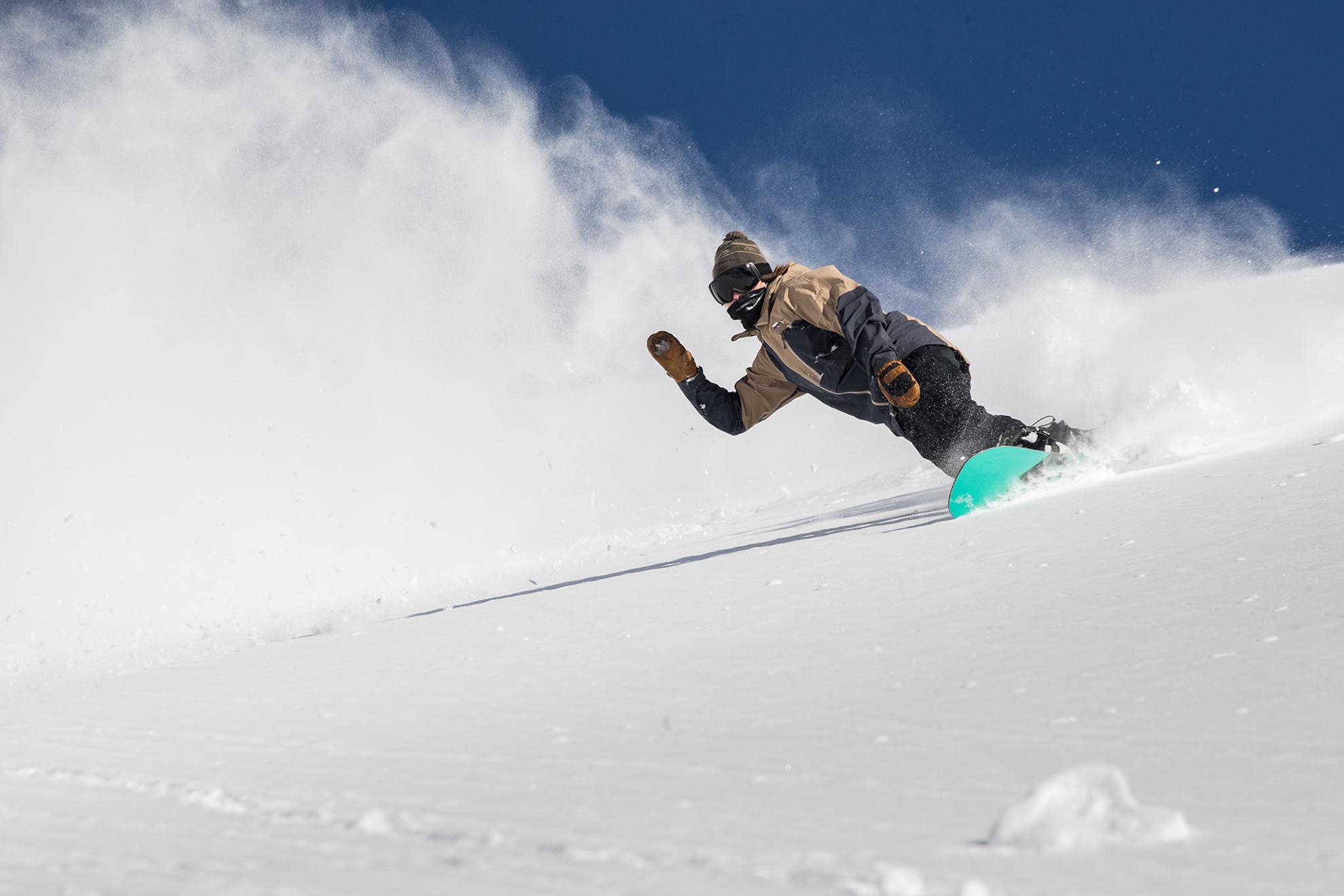 Snowbird Summit Pass Snowboarder